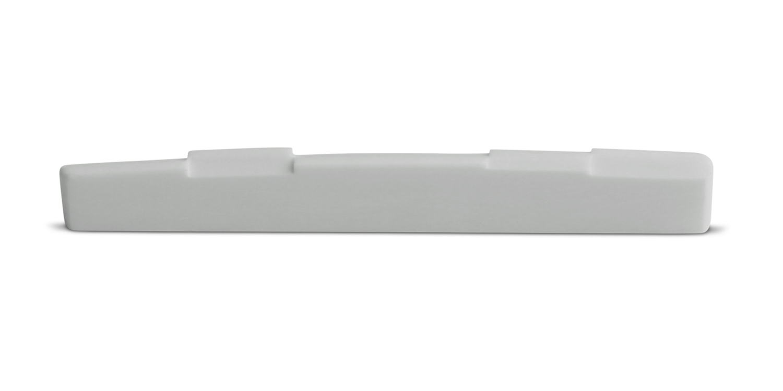 Bone Guitar Saddle Fully Compensated 16 inch Radius 73.2 mm Length Straight