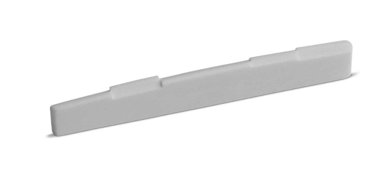 Bone Guitar Saddle Fully Compensated 16 inch Radius 73.2 mm Length Angle