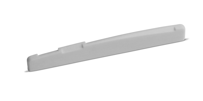 Bone Saddle Fits Many Newer Epiphone Guitars 12 inch Radius 75.2 mm Length Angle