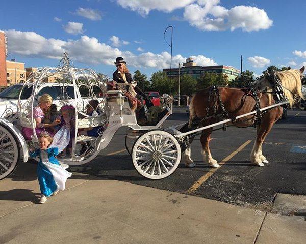 Princesses arrive at Palace!