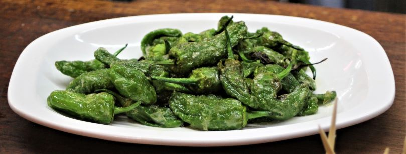 Padron peppers at Meson de Champiñon (Photo: Brent Petersen)