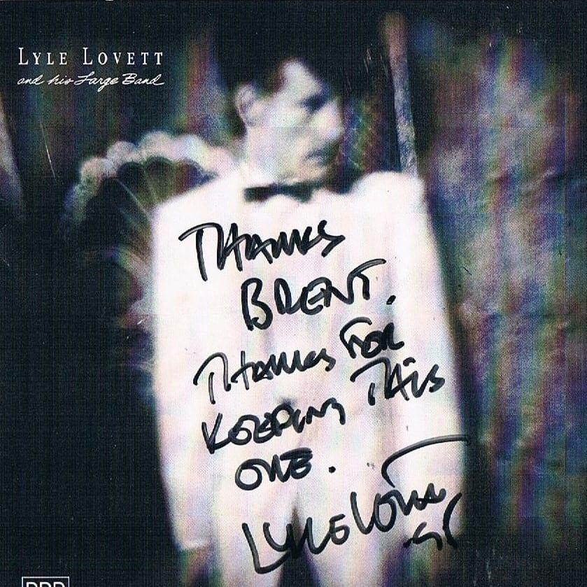 I lied to Lyle Lovett