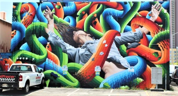The gorgeous murals of Kaka'ako, Hawaii