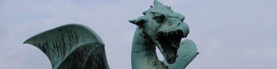 Ljubljana's famous dragon