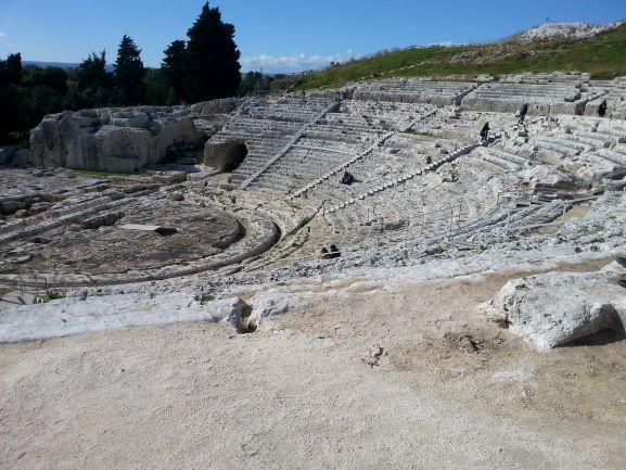 The Greek Theater in Syracuse is still used for performances today (Photo: Brent Petersen)