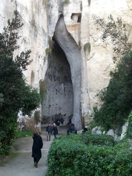 The Ear of Dionysius (Photo: Brent Petersen)