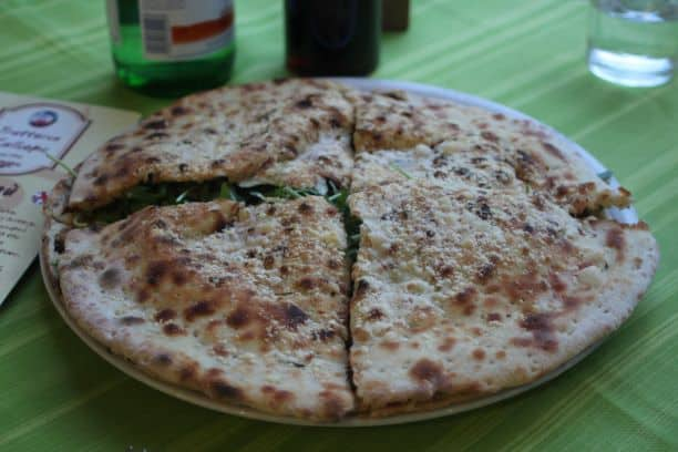 Pizzolo from Trattoria Kalliope (Photo: Brent Petersen)