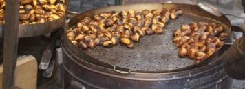 Chestnuts roasting on an open fire…in Italy