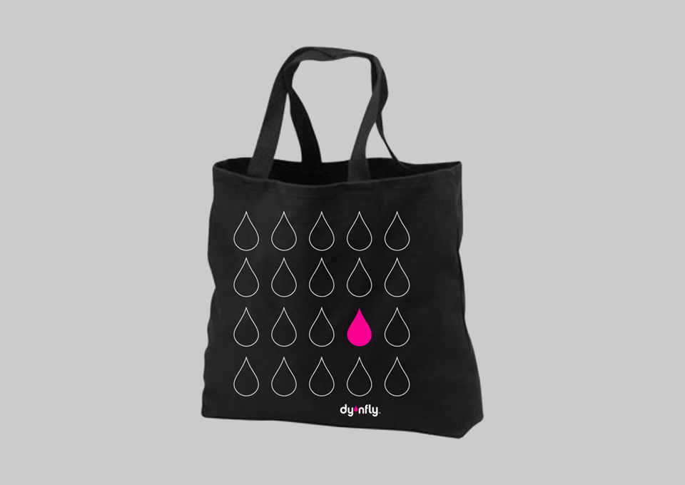 dynfly tote bag