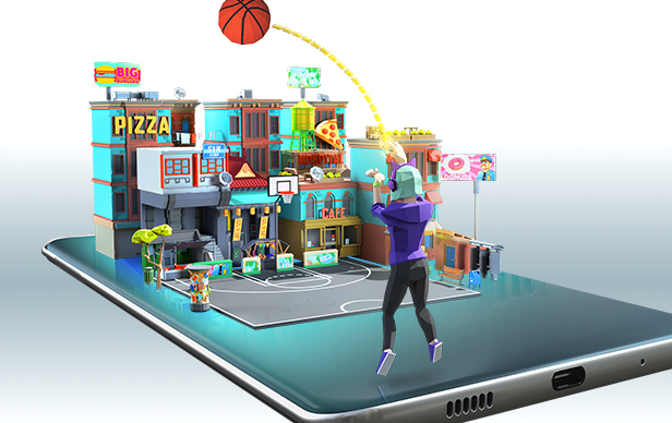 TRICKSHOT KINGS AR MOBILE GAME KEY ART