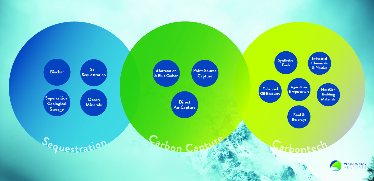 How do we capture carbon from climate change?