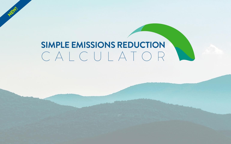 SERC - Simple Emissions Reduction Calculator