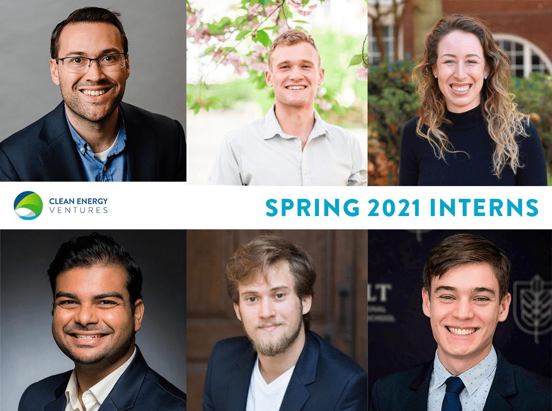 Spring 2021 Climate Tech Interns