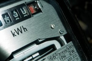 Electric meter for business electricity rates
