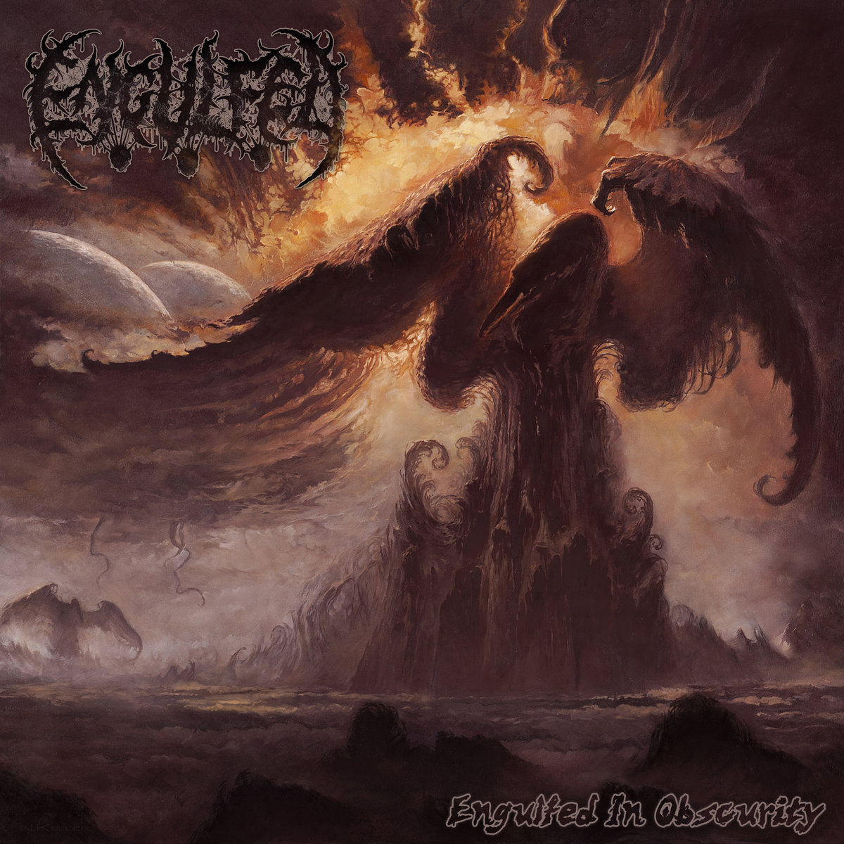Engulfed - Engulfed in Obscurity