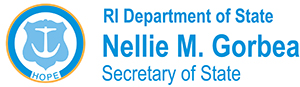 Rhode Island Department of State, Secretary of State Nellie M. Gorbea