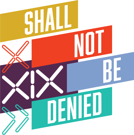 Shall Not Be Denied Logo of the brand
