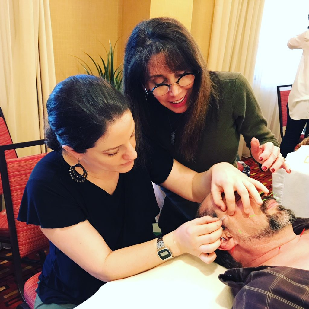Michelle Gellis teaches Facial Acupuncture CEU Certification Classes throughout the US