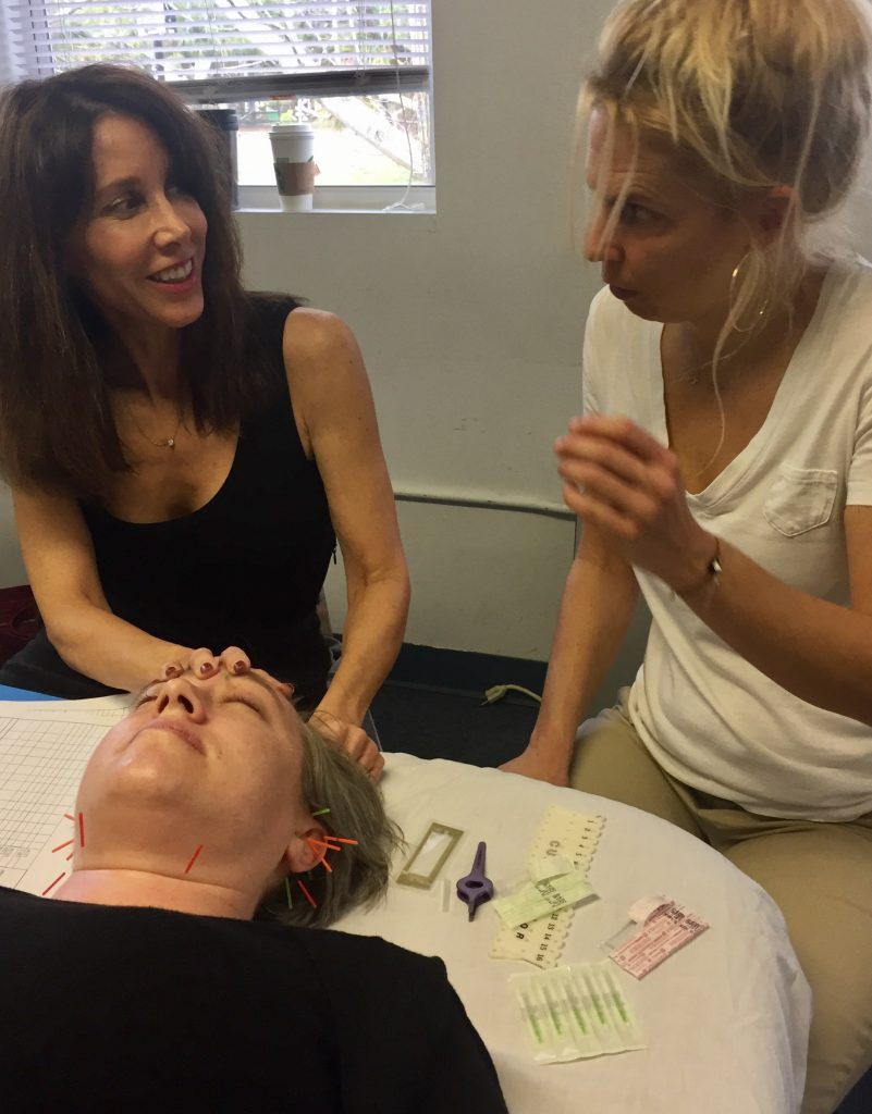 Reverse signs of aging. Michelle Gellis teaches Facial Acupuncture CEU Certification Classes throughout the US
