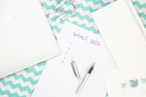 Prioritize your goals and only go after 1 or 2 at a time - don't overwhelm yourself!