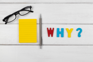 Your WHY must be a statement everyone in your company relates to and a statement that sets your company's direction.