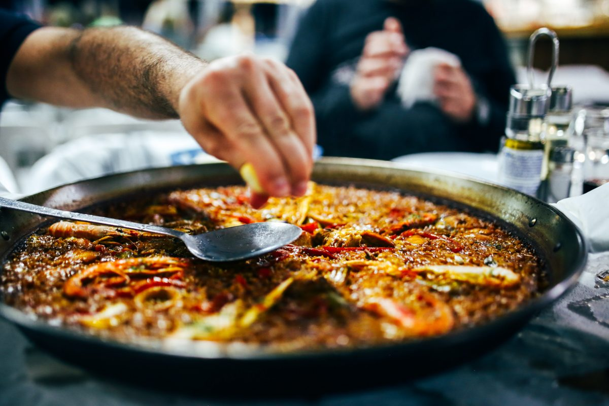 Photo of the best paella in nyc