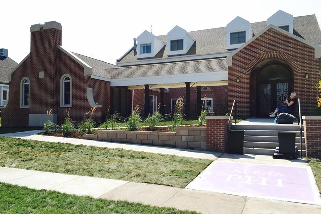 Alpha Phi Sorority at Iowa State