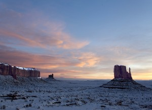 Paul Monument Valley at Winter Morning