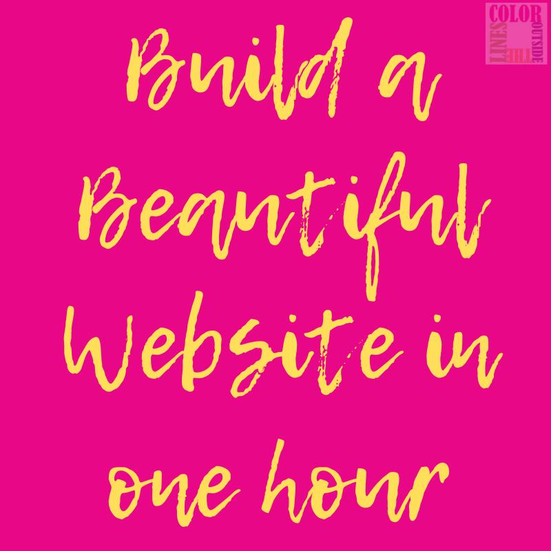 Website in an hour