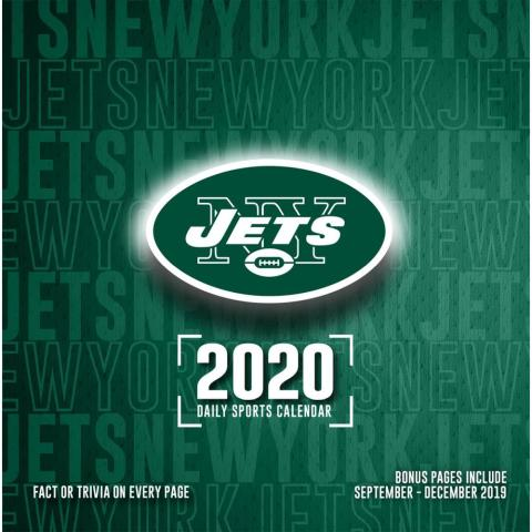 New York Jets 2020 Desk Calendar