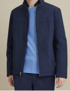 Wilson Leather Softshell Jacket