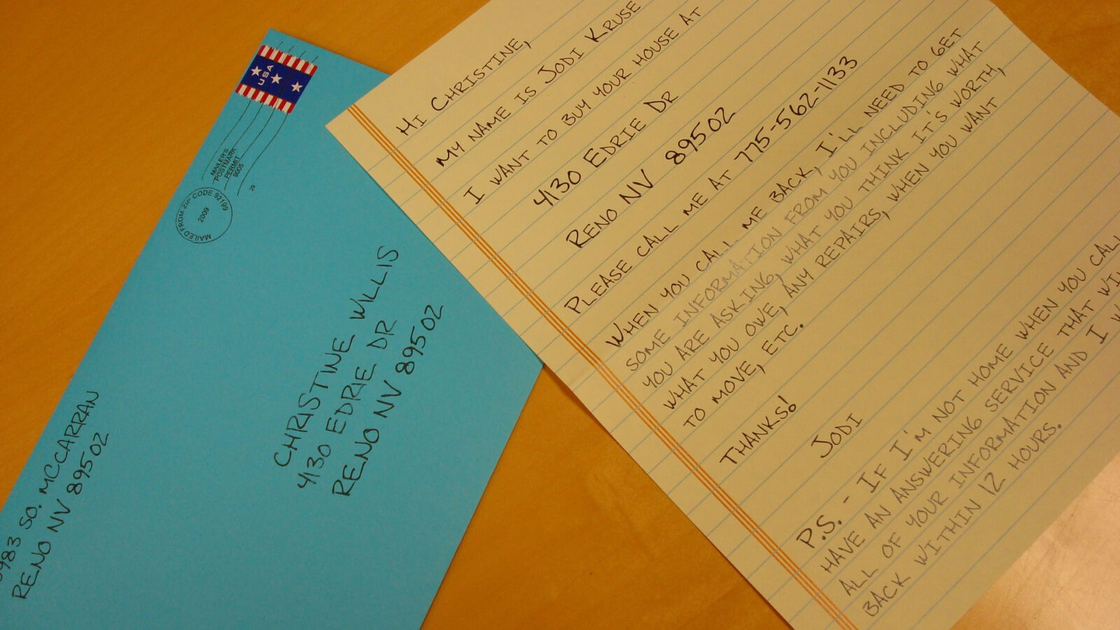 Direct Mail Handwritten Letters, Yellow Letter Marketing