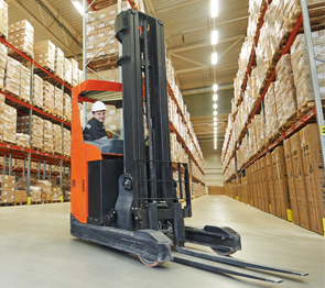 Narrow Aisle Forklift Train the Trainer and Operator Programs