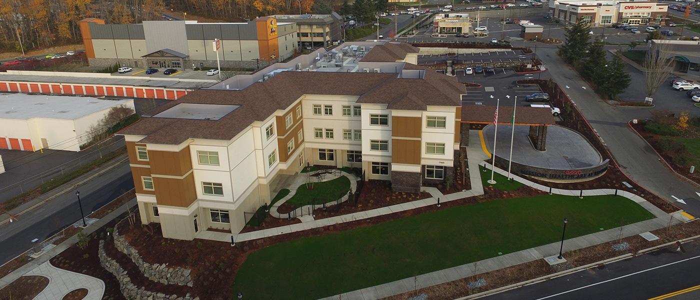 Mission Healthcare Renton building