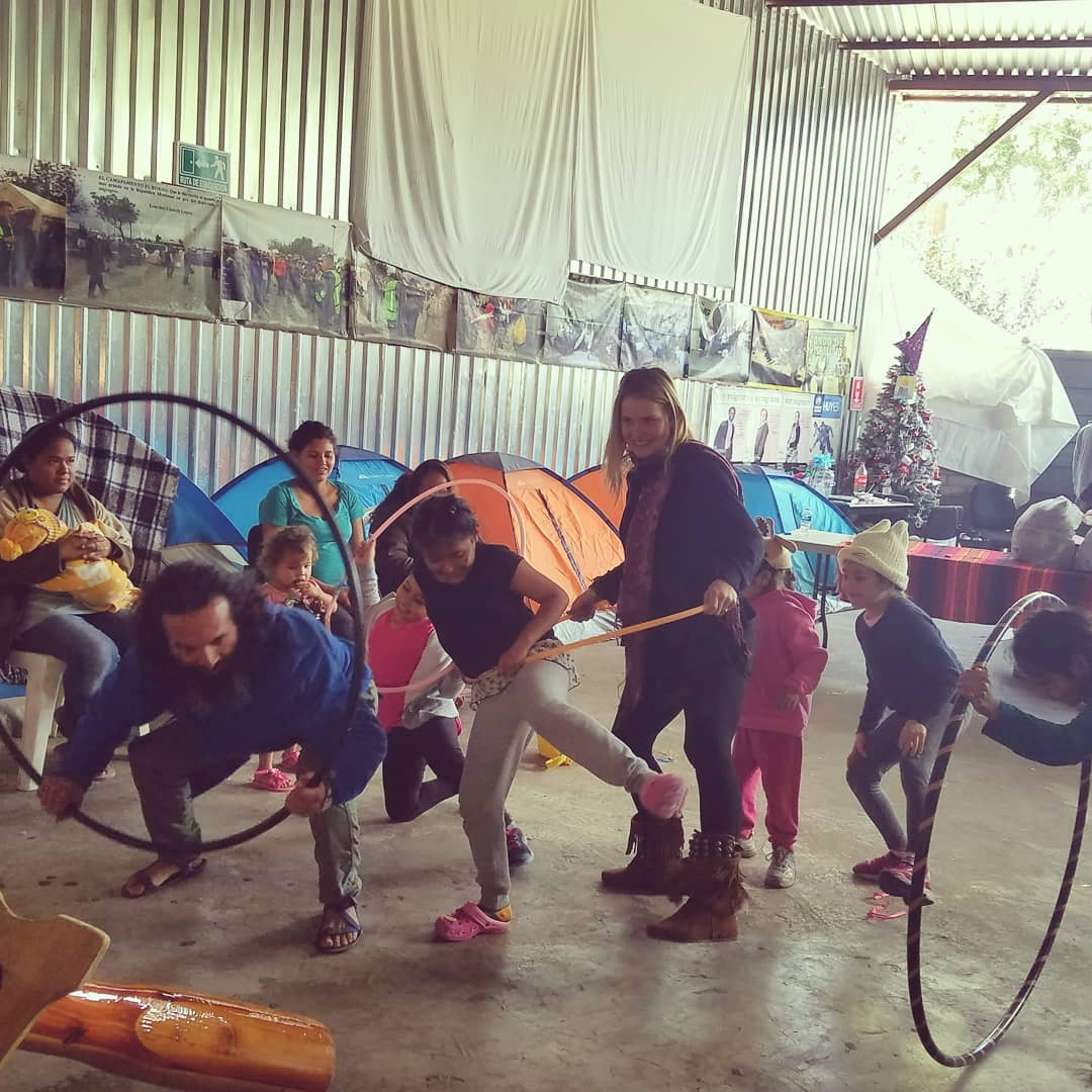 We had so much fun playing games, hula hooping, giving gifts and sharing music with the refugee and orphan children in tijuana. The experience was truly heartwarming. This cause is definitely worth contributing to. There are so many more people in need of supplies and the joy that each of us can share.