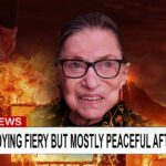 CNN: Ruth Bader Ginsburg enjoying fiery but mostly peaceful afterlife