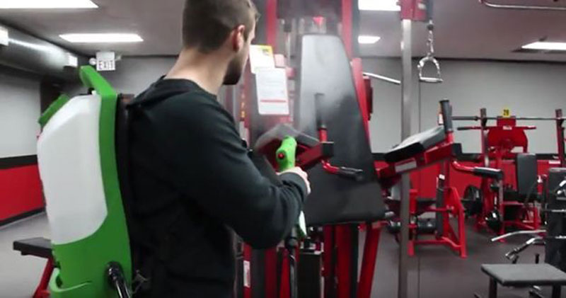 gym cleaning disinfection
