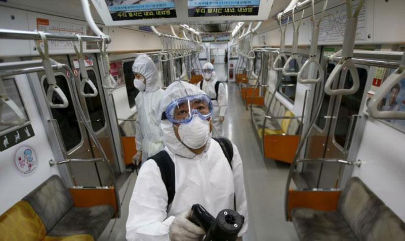 train disinfection