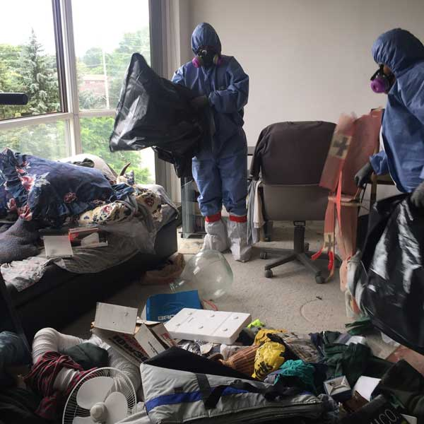 hoarding cleaning toronto