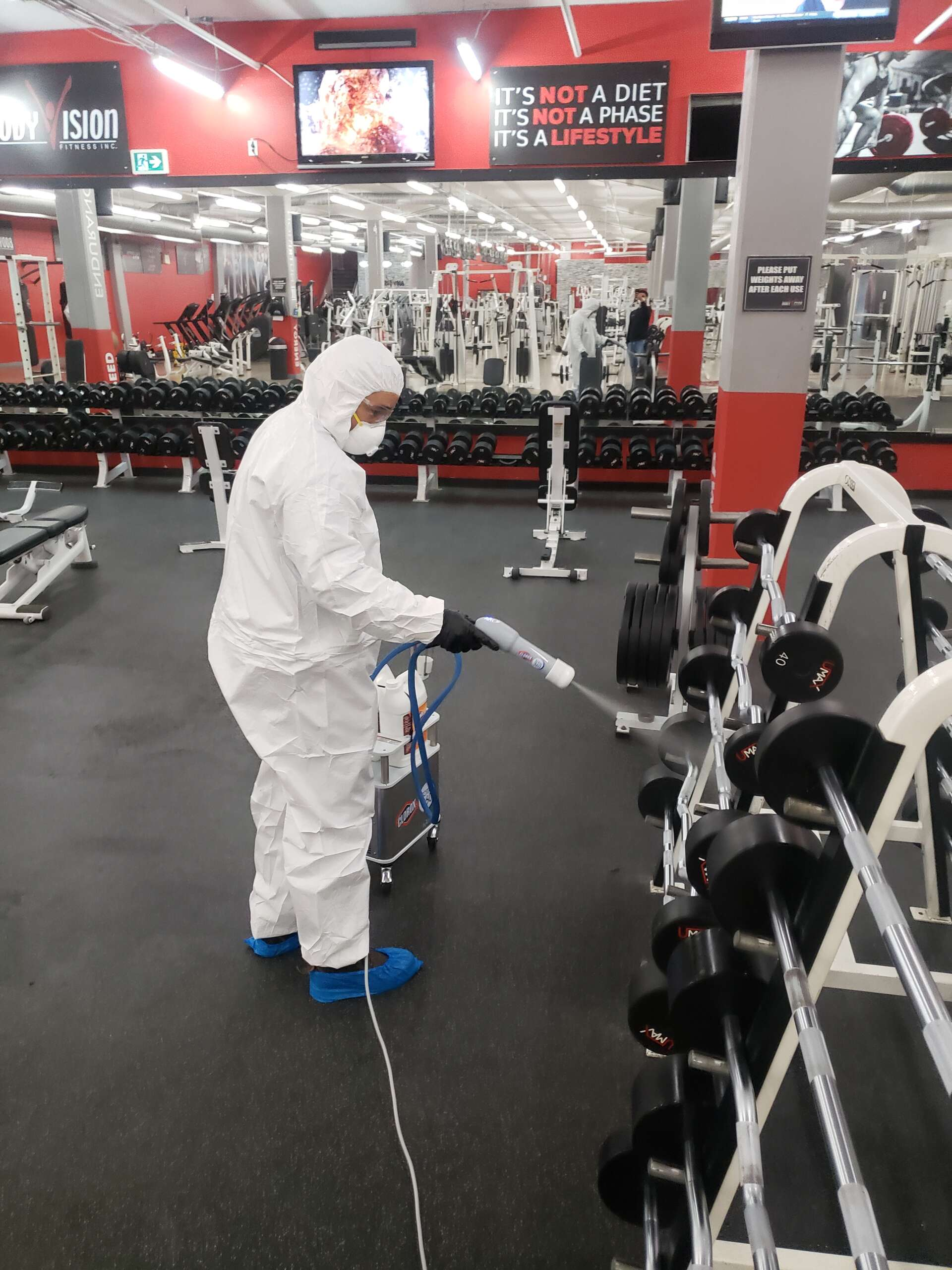 gym sanitizing services