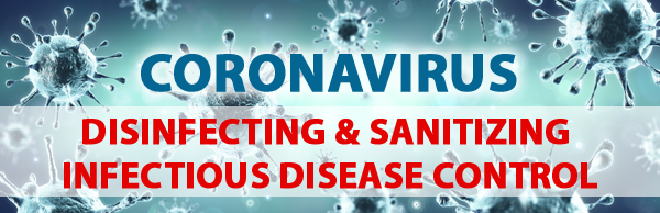 coronavirus disinfecting sanitizing services