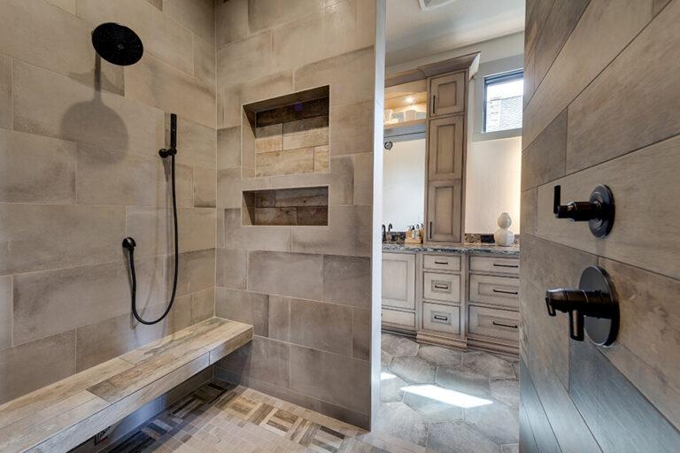 Timberline shower
