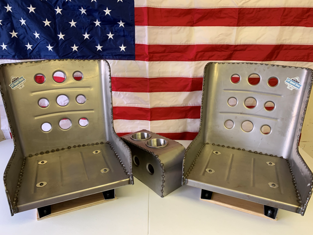 Stand out from the crowd with our hand formed bomber seats, bench seats and consoles.  Go to the Hot Rod Series Category in our Shop.