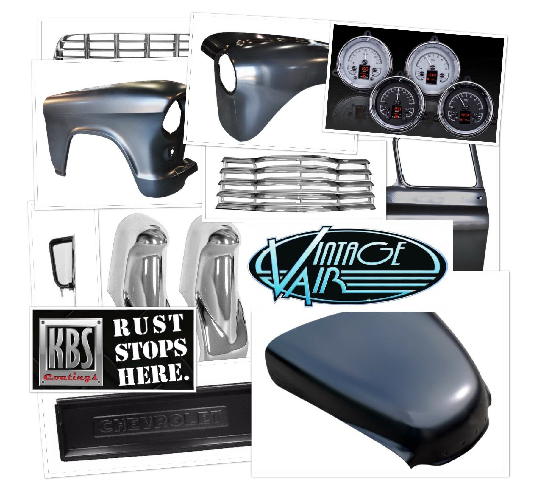Cab Corners, Floor Pans, Grilles,  Hoods, Doors, Bumpers and Much More!