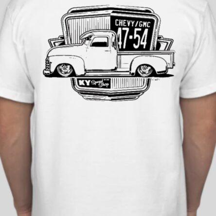 KYSS Chevy/GMC Truck Profile T-Shirt 47-54