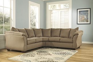 Pleasing Kirwin Nuvella Collection 2Pc Sectional 2 Colors Home Interior And Landscaping Palasignezvosmurscom