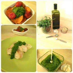 Pesto collage