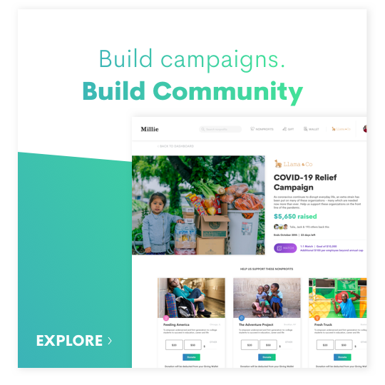 company fundraising campaigns