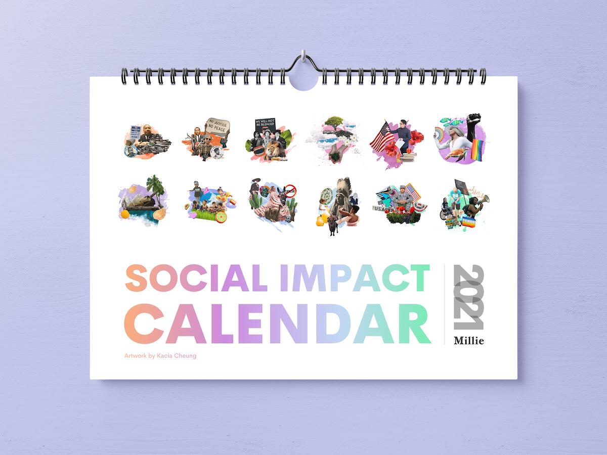 millie csr social impact calendar