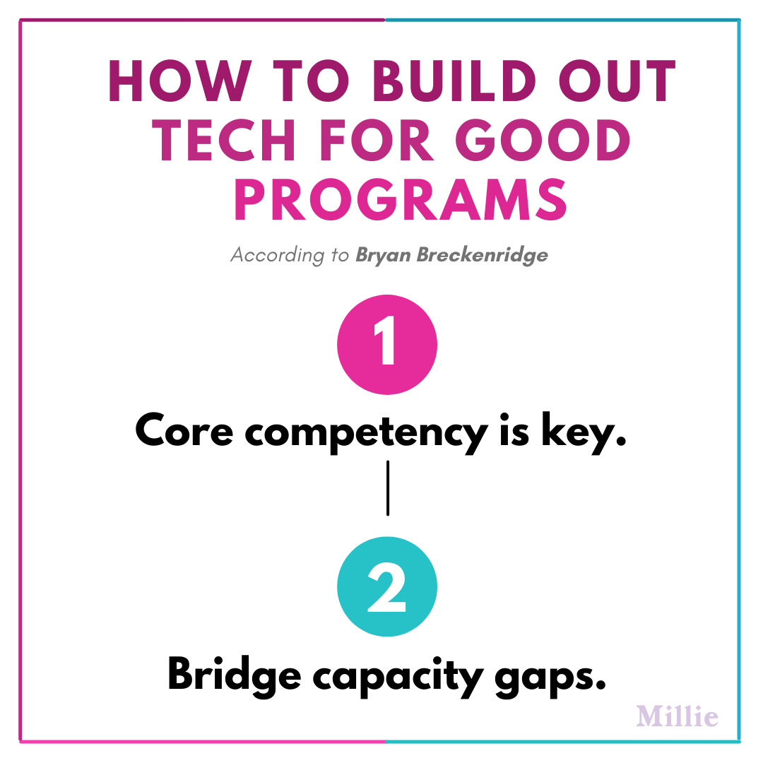 How to Build out product or tech for good programs (2)